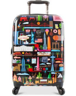 """Fvt Usa 21"""" Hardside Spinner Suitcase"""