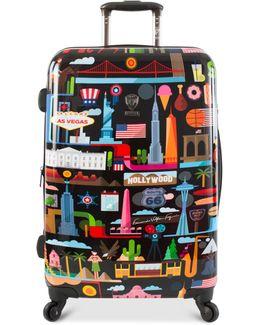 """Fvt Usa 26"""" Hardside Spinner Suitcase"""