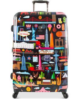 """Fvt Usa 30"""" Hardside Spinner Suitcase"""