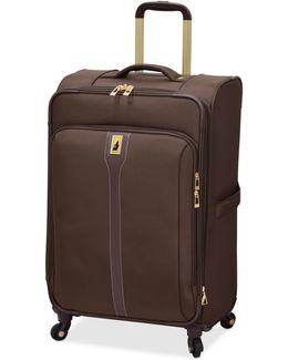 "Knightsbridge 25"" Expandable Spinner Suitcase"