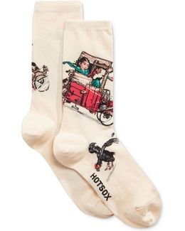 Women's Look Out Below Socks