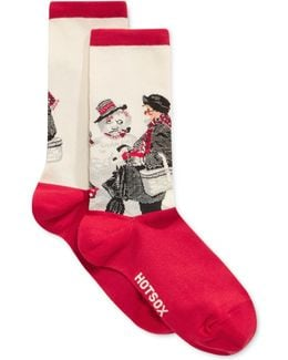 Women's Gramps And The Snowman Socks
