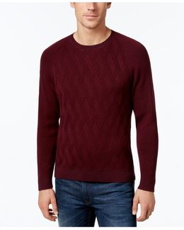 Men's Ocean Crest Lattice Knit Sweater