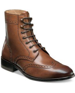 Men's Capital Wingtip Lace-up Boots