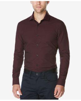 Men's Big & Tall Long-sleeve Dobby Shirt