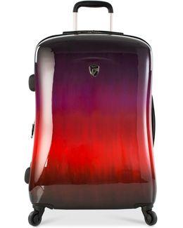 """Ombré Sunset 26"""" Hardside Spinner Suitcase"""