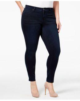 Plus Size Od Black Wash Skinny Jeans