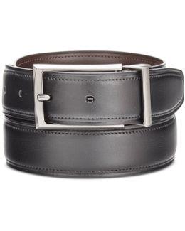 Men's Big & Tall Reversible Leather Belt