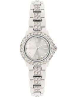 Women's Crystal Accent Bracelet Watch 26mm In003rg