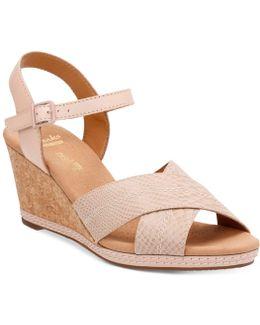 Helio Latitude Wedge Sandals