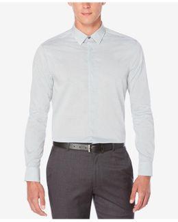 Men's Horizontal Fine Stripe Shirt