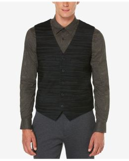 Men's Big & Tall Travel Luxe Performance Striped Vest
