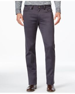 Men's Charcoal Gray Stretch Pants