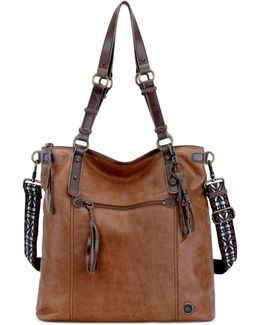 Ashland Leather Convertible Tote