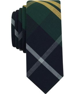 Men's Graves Plaid Slim Tie