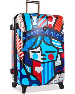 """Britto Freedom 30"""" Expandable Hardside Spinner Suitcase"""