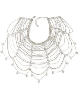 Marquee Statement Collar Necklace