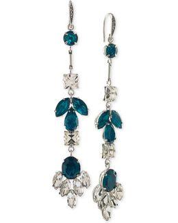 Shimmering Linear Earrings