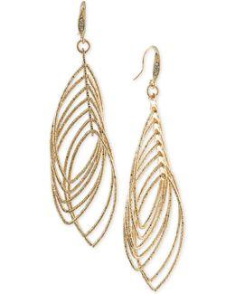 Multi Ring Gypsy Drop Earrings