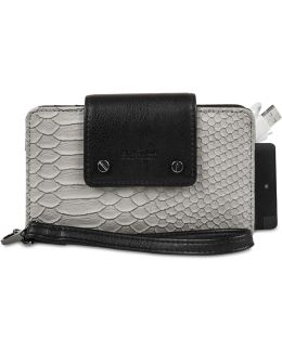 Rfid Phone Wristlet With Portable Charger