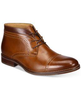 Men's Garner Cap-toe Boots