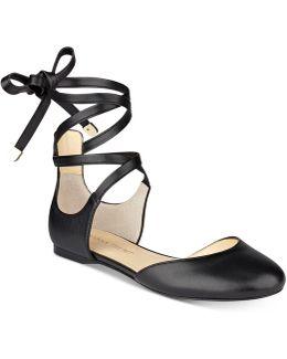 Elise Leather Ballet Flats