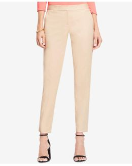 Straight-leg Ankle Trousers