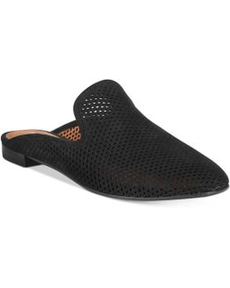 Women's Gwen Perforated Slide Flats