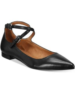 Women's Sienna Cross Ballet Flats