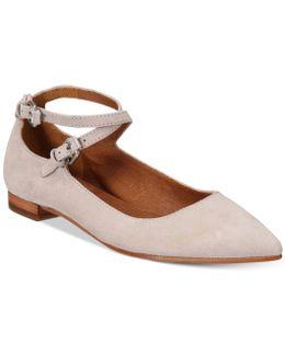 Women's Sienna Cross Ballet Flats