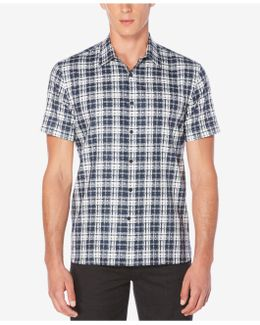 Men's Big & Tall Sommerset Plaid Shirt