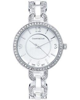 Crystal Bracelet Watch 33mm