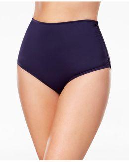 Plus Size High-waist Bikini Bottoms