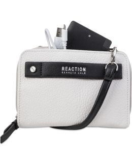 Strap Wallet With Battery Charger
