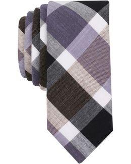 Men's Karloff Plaid Skinny Tie