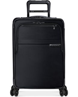 """Baseline 22"""" Expandable Carry-on Spinner Suitcase"""