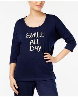 Graphic-print Pajama T-shirt