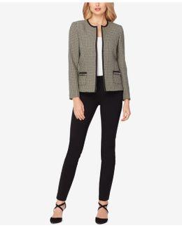 Flyaway Tweed Pantsuit
