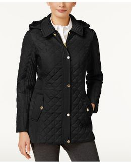 Hooded Quilted Coat