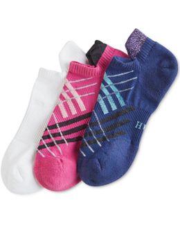 Women's 3-pk. Air Sleek Tab Cushioned Liner Socks