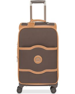 """Chatelet Plus 24"""" Expandable Softside Spinner Suitcase With Suiter"""
