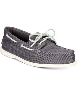 Men's Mesh Boat Shoes
