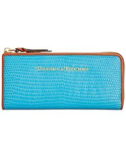 Continental Zip Clutch Wallet