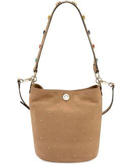 Belynda Embellished Small Bucket Bag