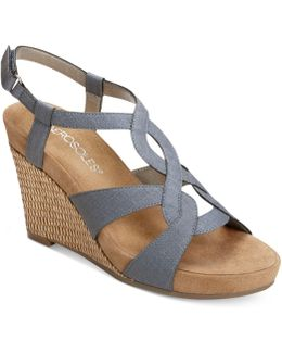 Fabuplush Wedge Sandals