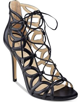 Hela Strappy Lace-up Sandals