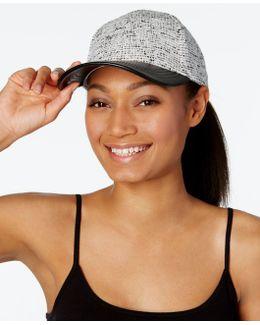 Mixed Media Baseball Hat