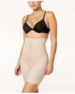 Extra Firm Inches Off Waist Cinching High-waist Thigh Slimmer 2726