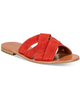 Women's Carla Crisscross Slide Sandals