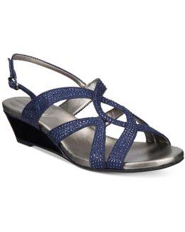 Gomeisa Embellished Wedge Sandals